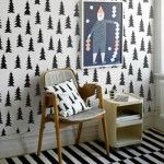 INSPIRATION: BLACK AND WHITE DECOR - PART ONE PRINTS & BEDDING | The Junior
