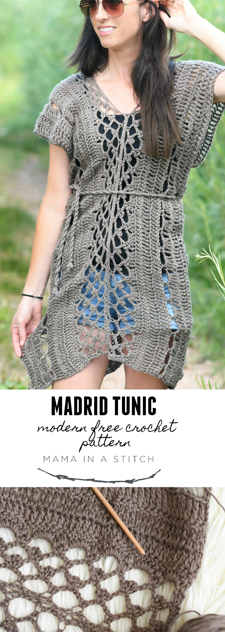 Madrid Tunic Free Crochet Pattern