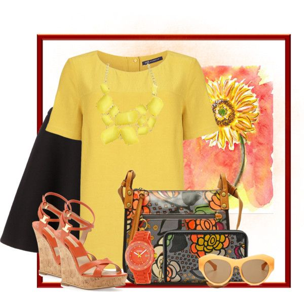 """""""Floral Purse"""" by debpat on Polyvore"""