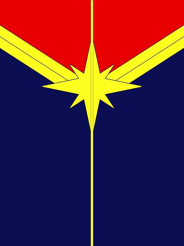 Captain Marvel Minimalist By Sterlingarts Captain Marvel Marvel Wallpaper Marvel Paintings
