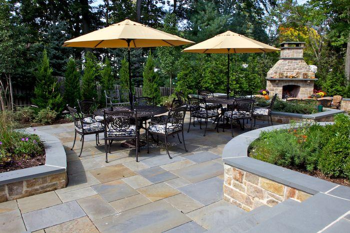 ▷ 1001 + stilvolle und moderne Garten Ideen zur Inspiration Pinterest - feuerstelle garten naturstein