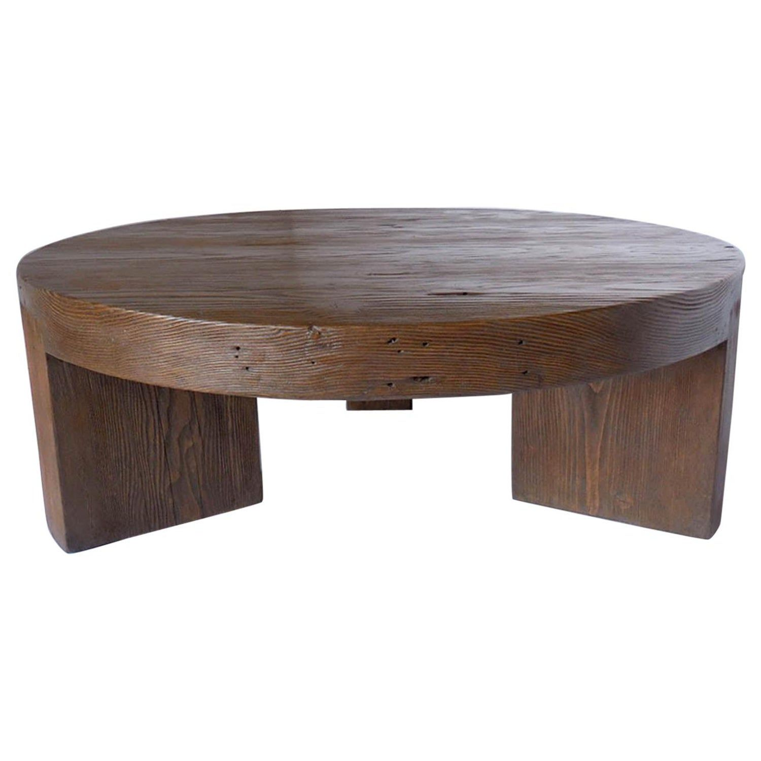 Round Reclaimed Wood Coffee Table Coffee Table Reclaimed Coffee Table Reclaimed Wood Coffee Table [ 1500 x 1500 Pixel ]