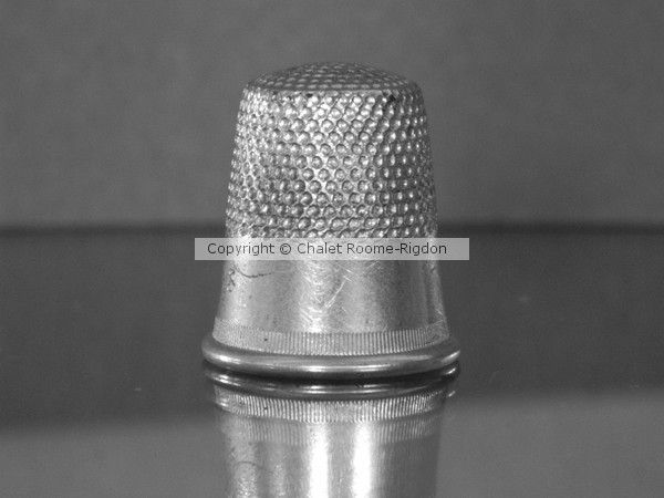 Great Grandma's Sewing Thimble by Chalet Roome-Rigdon on ARTwanted