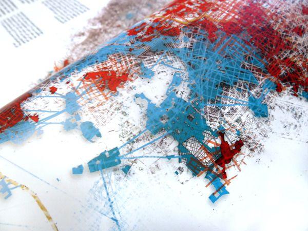 Editorial illustrations: Maps for Magaz ~Tarek Abdel-kawi