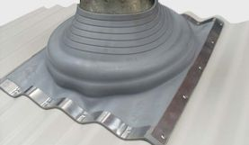Roof Jacks Corrugated Duravent Chimney Pipe How To