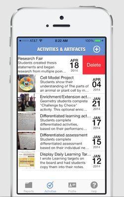 Finally, an iPhone app to help teachers complete their
