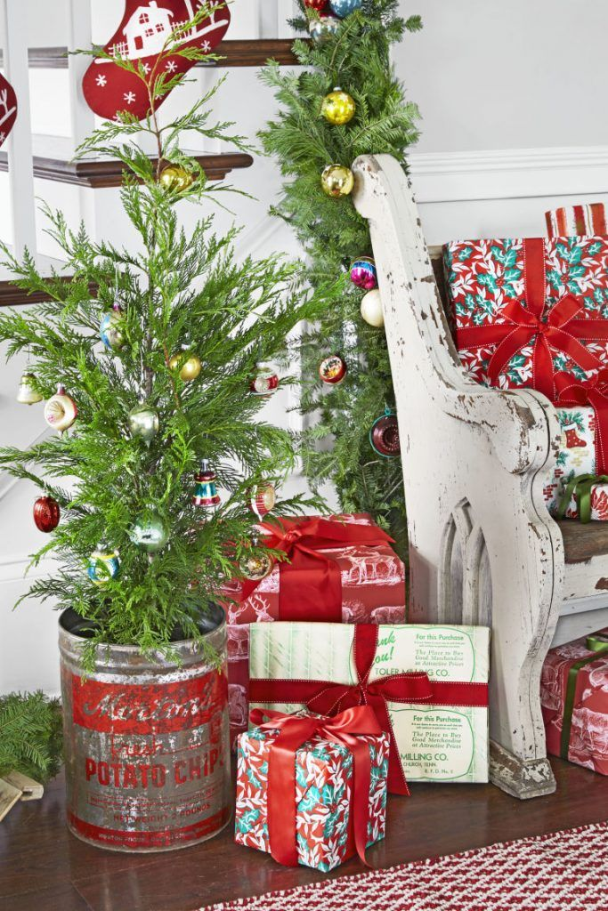 having a christmas tree may seem like a distant dream if you live in an apartment or are on a strict budget but you dont have to give up entirely on - Live Mini Christmas Tree