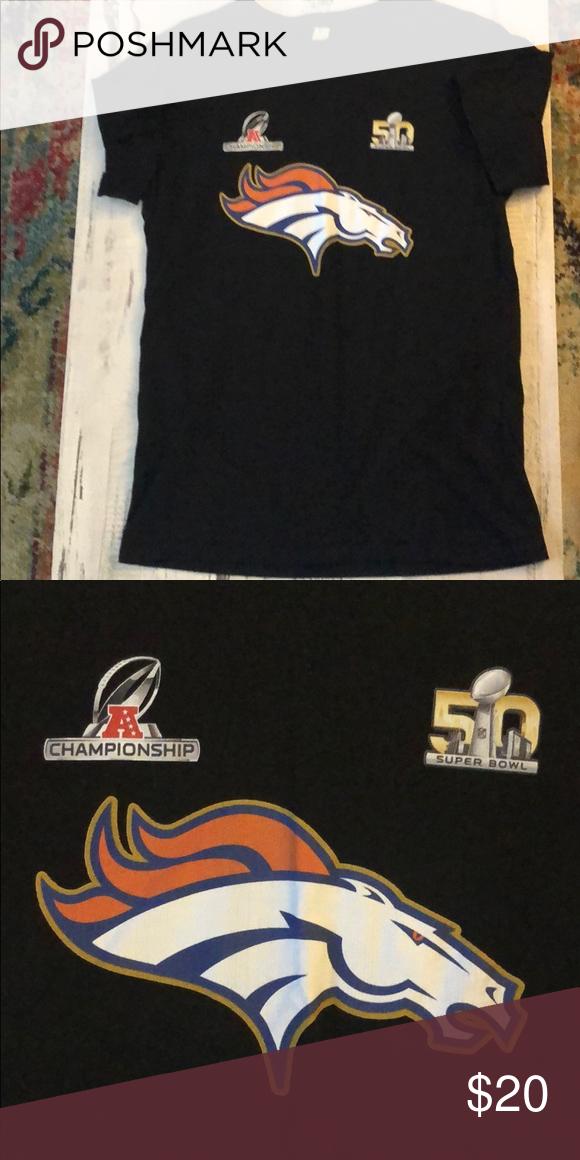 Super bowl 50 championship broncos T-shirt Super soft light championship broncos  tee Shirts Tees - Short Sleeve 782485d14