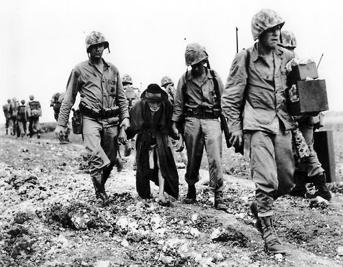 During The First Few Days Of The Okinawa Campaign The Leathernecks