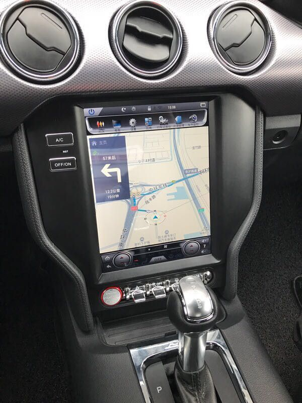 104\ Teslastyle Vertical Screen Android Navigation Radio For Ford Rhpinterest: Ford Mustang Audio At Elf-jo.com