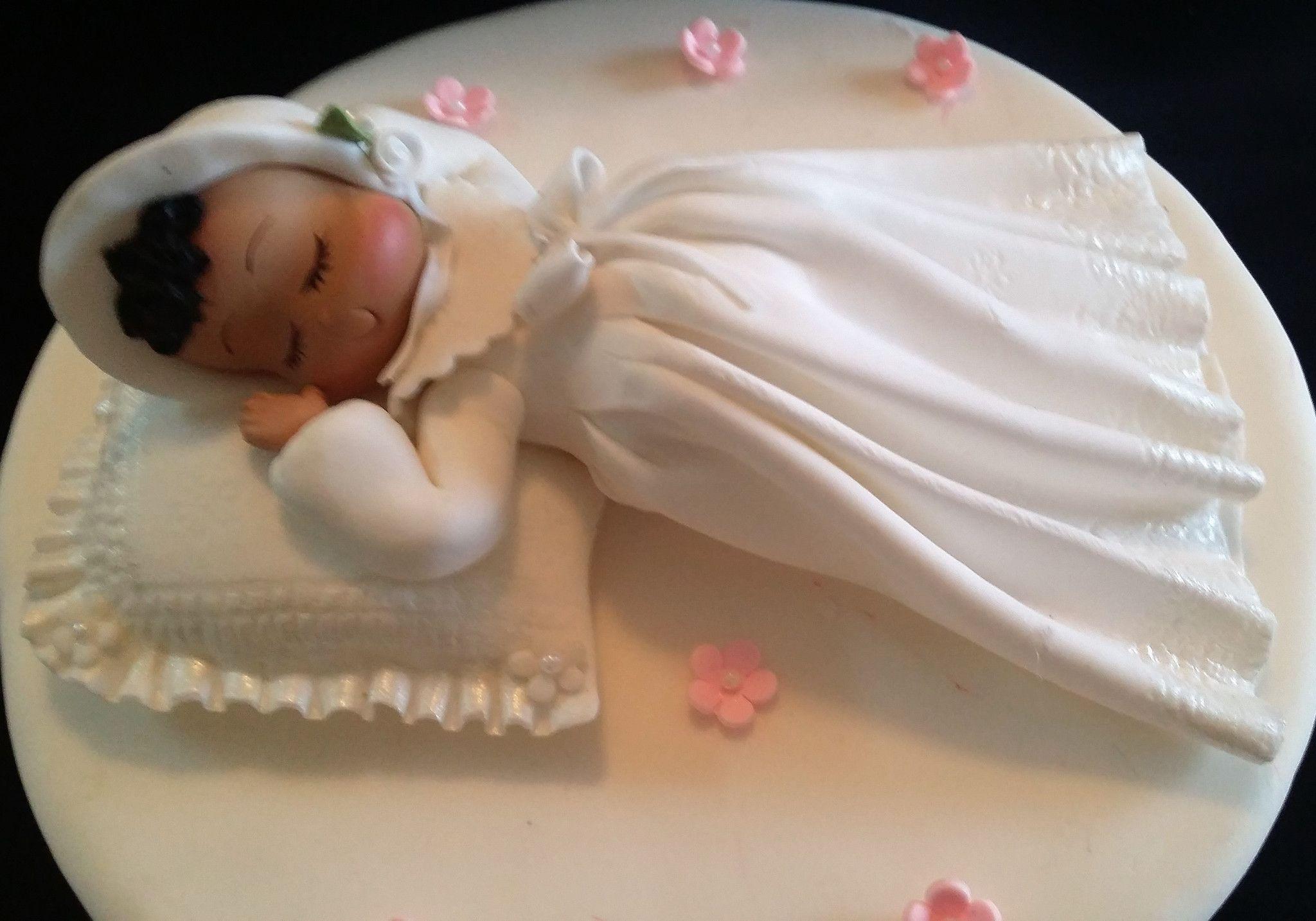 32++ Baptism cake topper girl trends