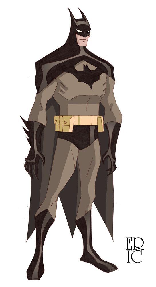 Batman Esboço da cor por EricGuzman