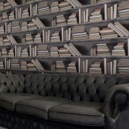 boekenkast fotobehang