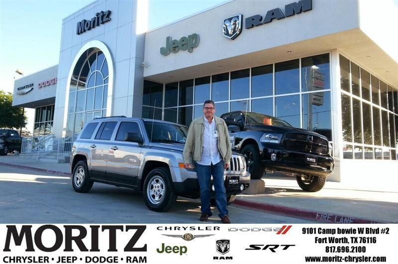 Congratulations To Rick Vourazeris On Your Jeep Patriot Purchase