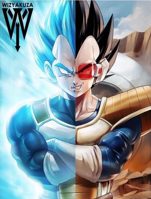 Vegeta By Wizyakuza Dragon Ball Art Anime Dragon Ball Dragon