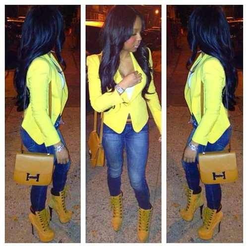lady timberland heel boots outfits Google Search in 2019