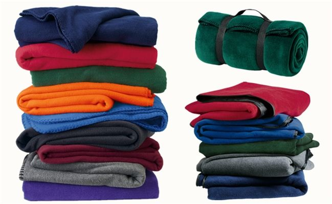 Corporate Fleece Blankets from NYFifth