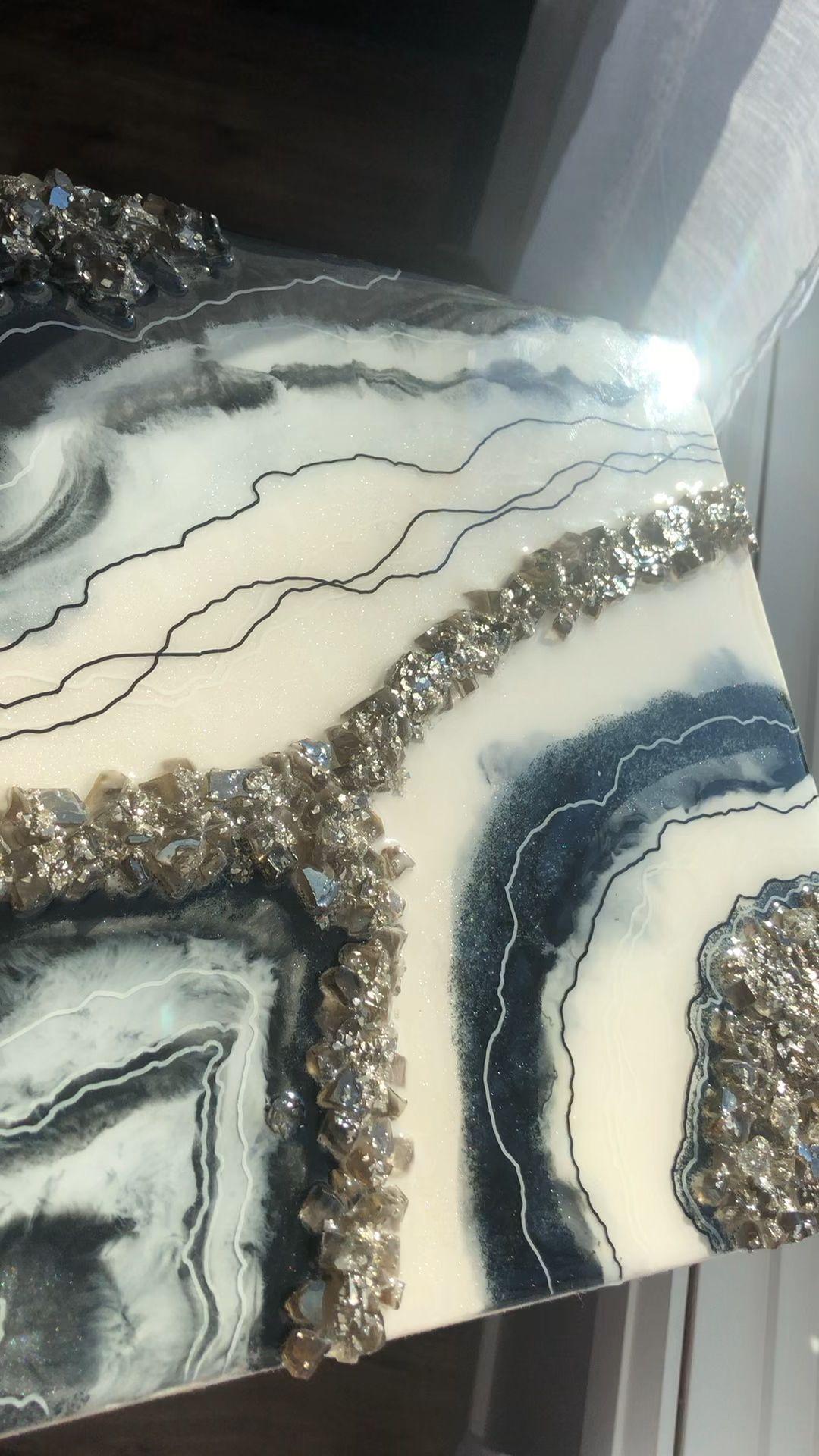 10x10 Grow Room Design: Klassisches Hepburn, Geode Resin Art In 2020
