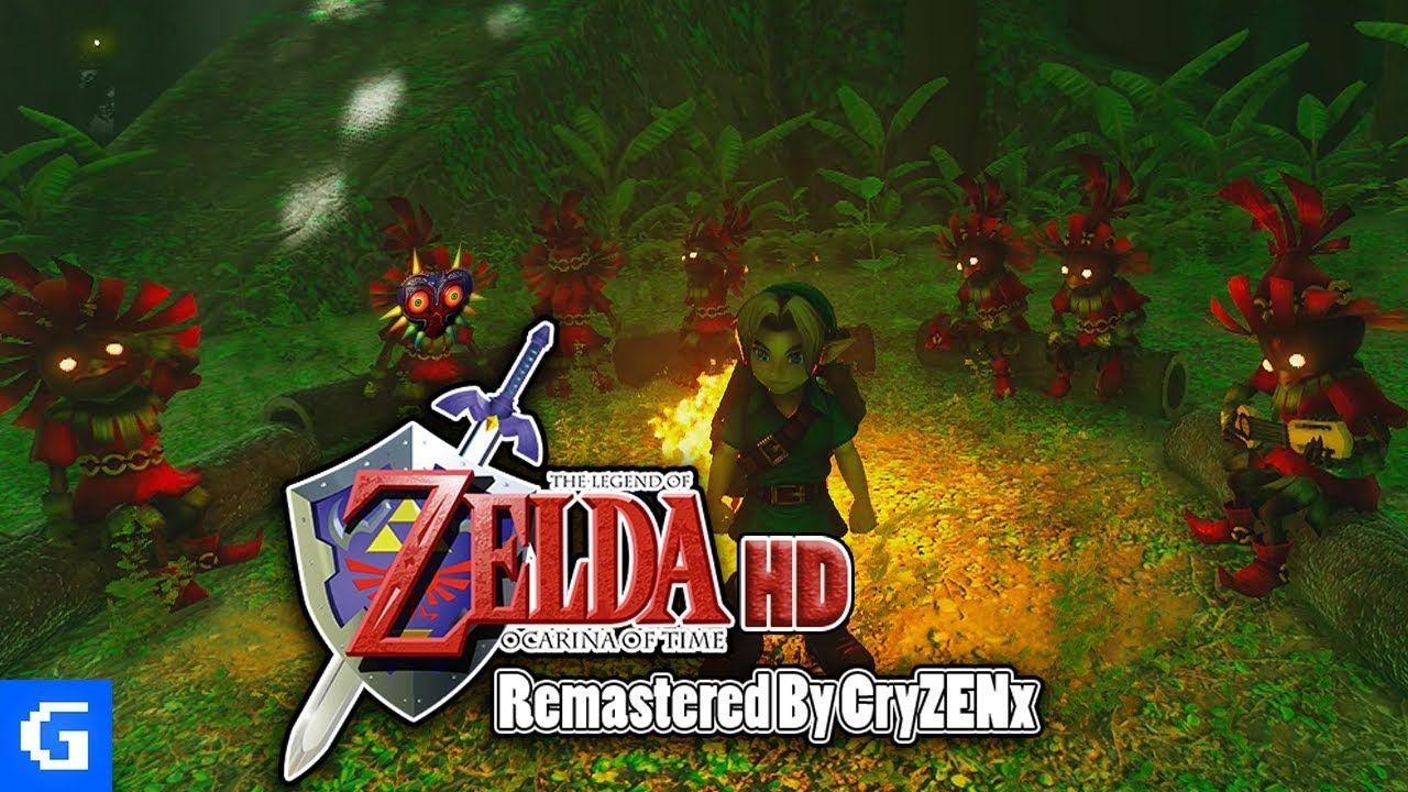 ZELDA: OCARINA OF TIME FAN REMAKE! - Unreal Engine 4