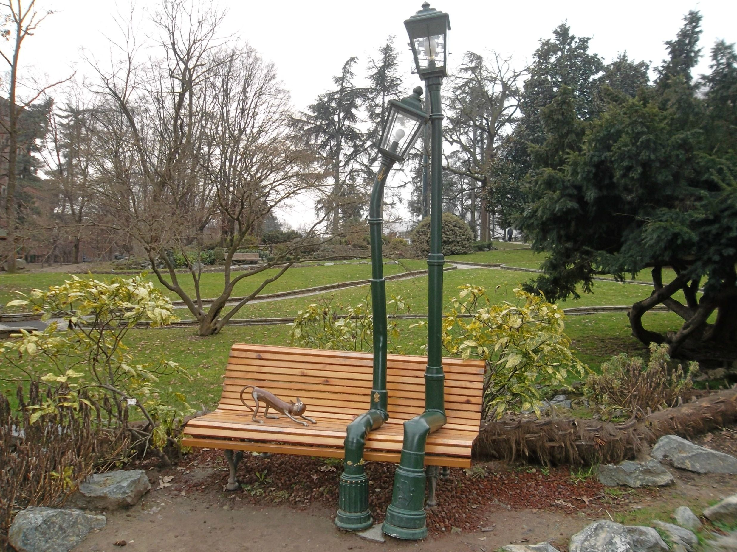 Piemonte Turin Valentino Park The Bench In Love Panchine Torino Installazioni Artistiche