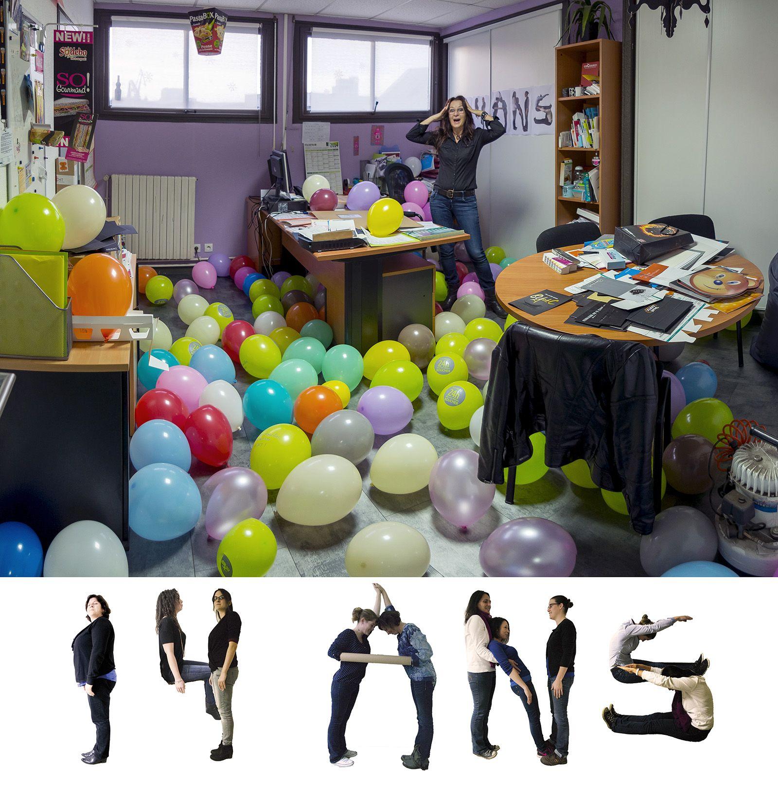 Campagne anniversaire pour fêter les 14 ans de métier de notre directrice commerciale !