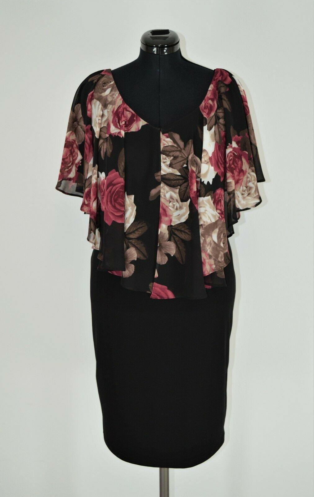 NEU! Joseph Ribkoff Kleid 14 Gr. 14 14 schwarz-bunt Ortex