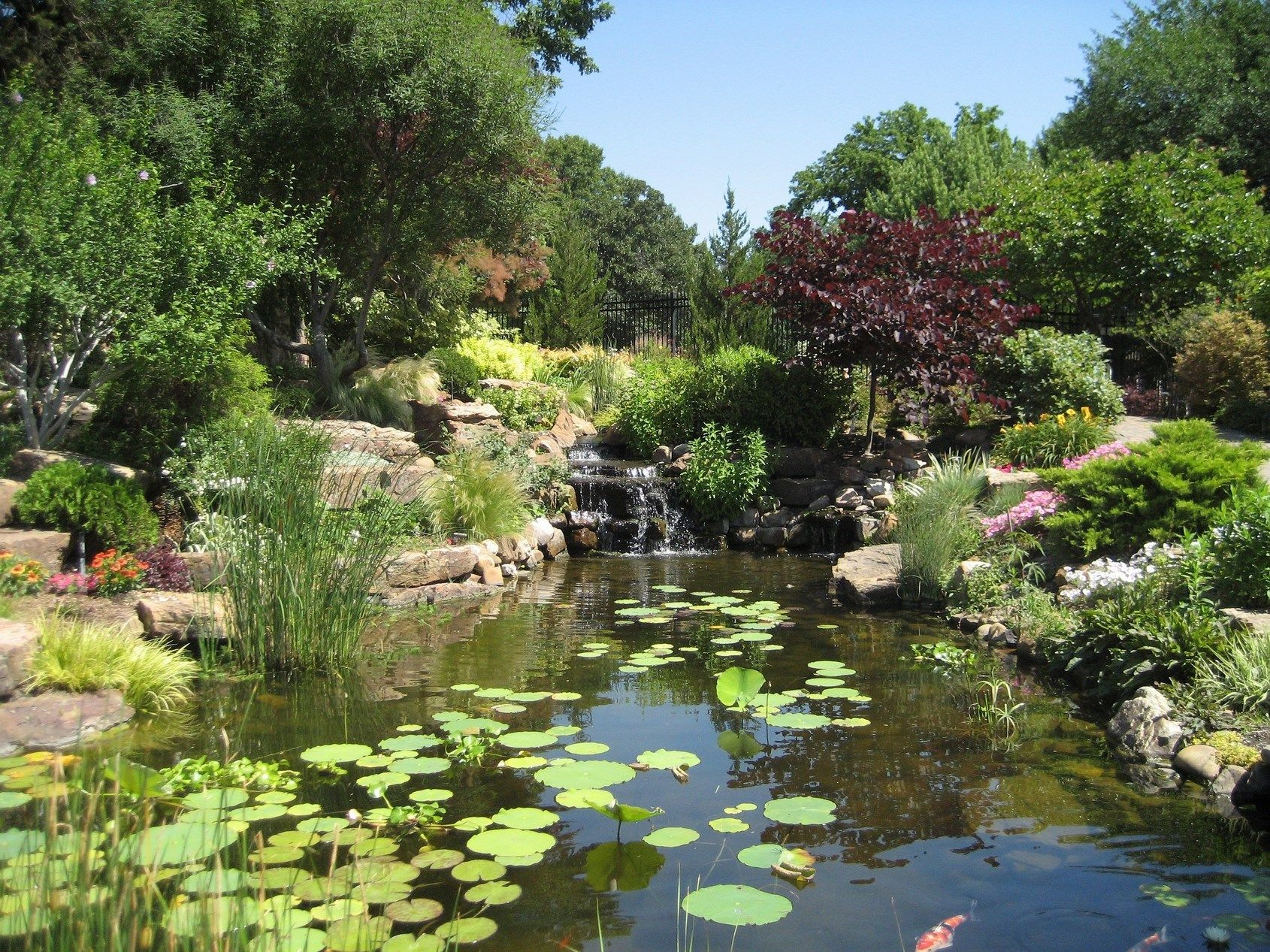 Linnaeus Teaching Garden | Tulsa Garden Center. Free And Open To The Public  Tuesday Through