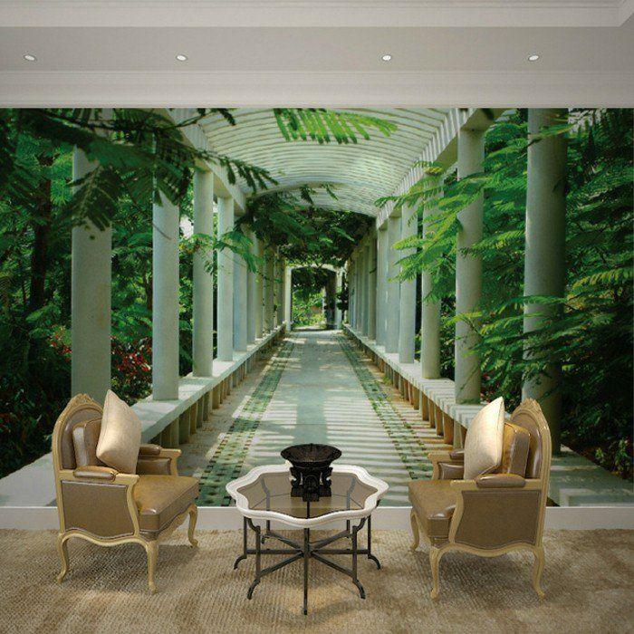 GroBartig Fototapete Wald Motive Unikales Wohnzimmer Gestalten