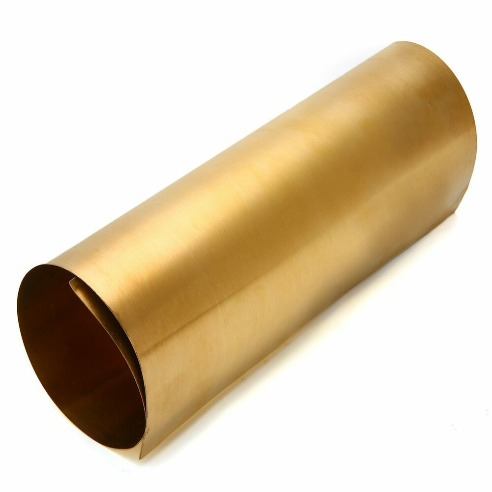 0 2mm Thickness Brass Metal Working Thin Sheet Foil Plate Shim Hand Tool Parts Unbranded In 2020 Metal Working Brass Metal Sheet Metal Gauge