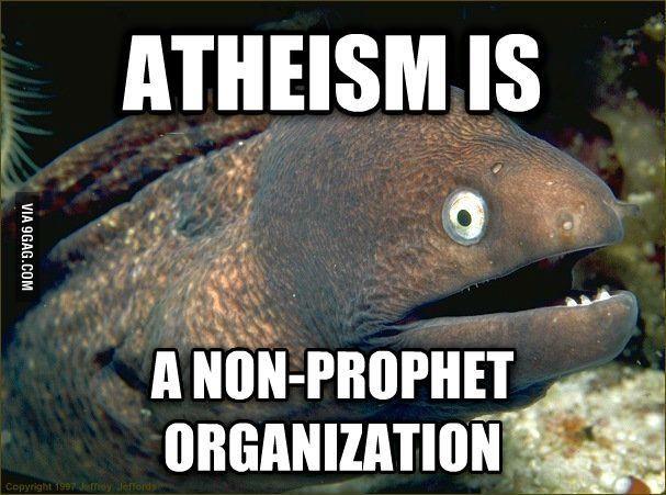 Bad Joke Eel on Religion