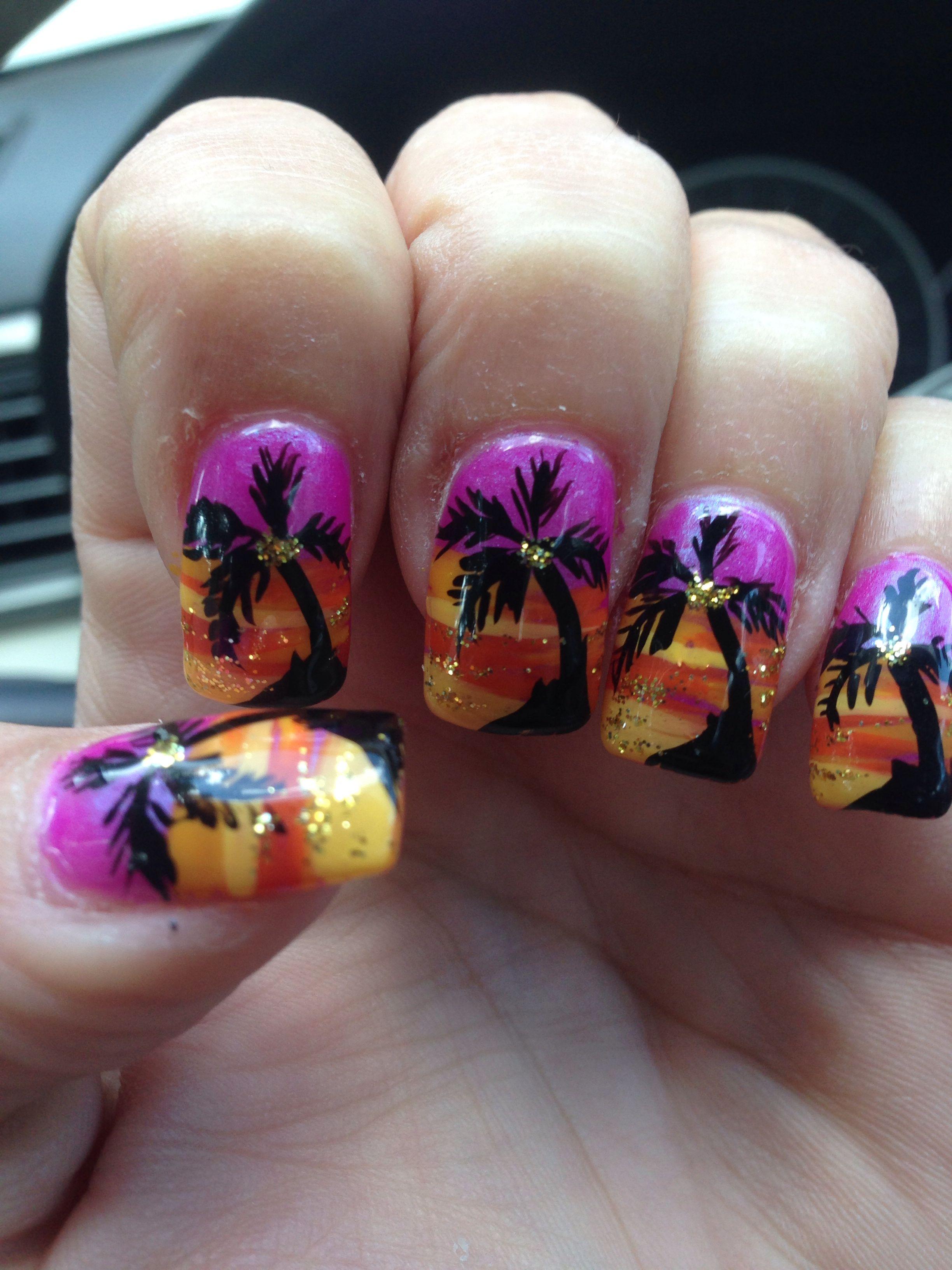 Fantastic nail art by Christine at Glamour Nails!! My favorite nails ...
