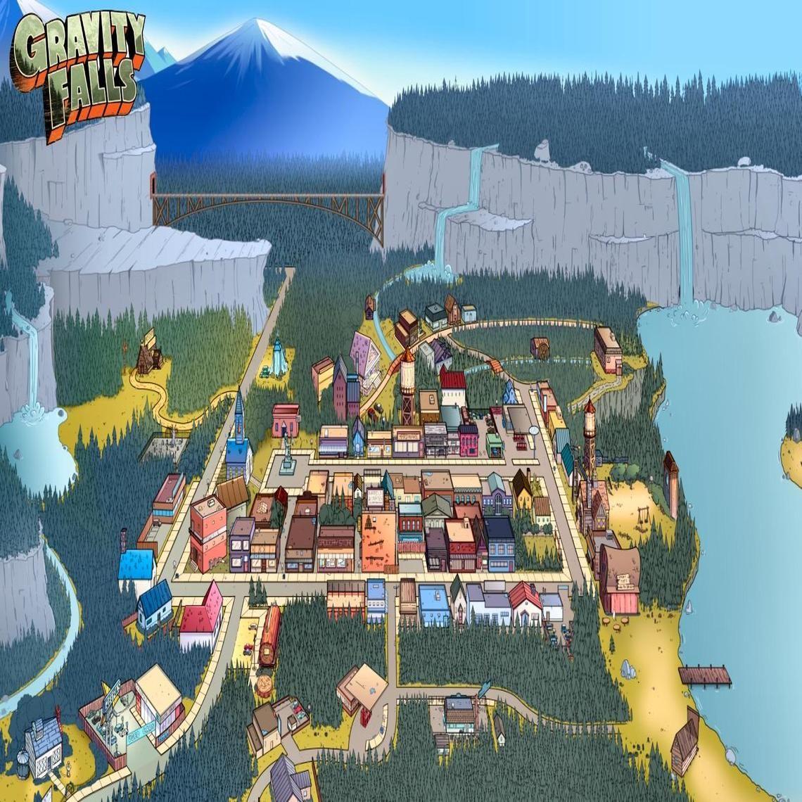 Gravity Fall Computer Wallpaper Gravity Falls A La Vista De Un P 225 Jaro Gravity Falls