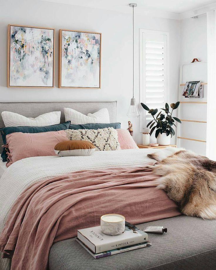 Boho Chic Blush Bedroom Zimmer Einrichten Zimmer Wohnen