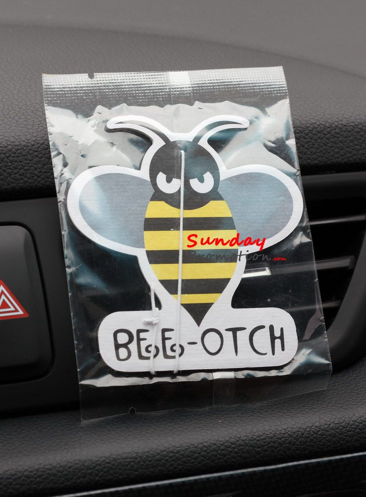 Bulk Bee Otch Car Air Freshener Bumblebee Freshener Custom