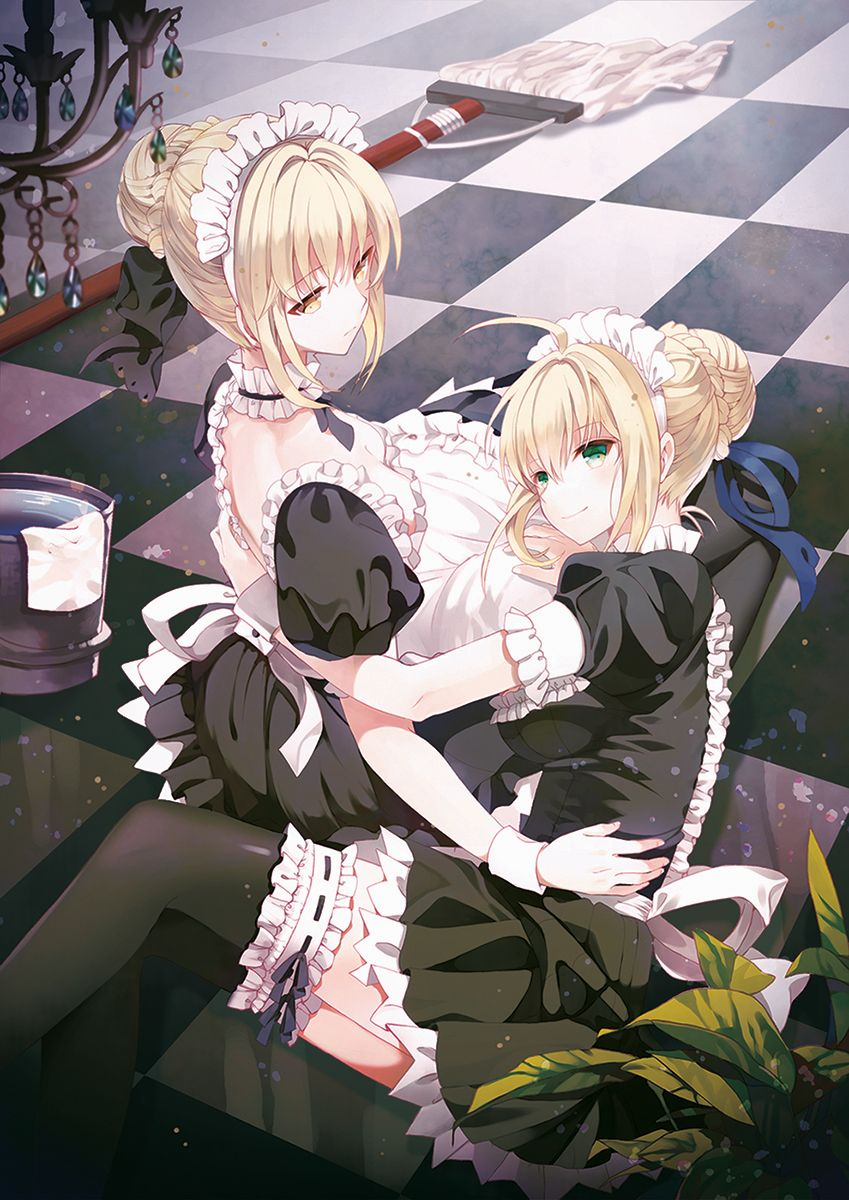 Saber Alter and Saber Extra~Fate/Stay Night & Fate/Extra ...