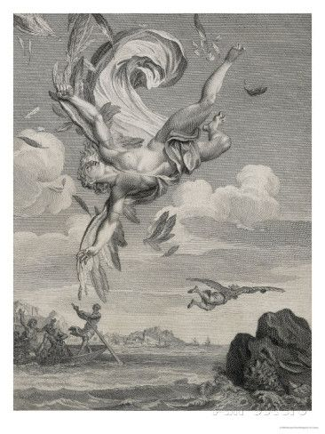 The Fall of Icarus, 1731 Giclee Print by Bernard Picart at AllPosters.com