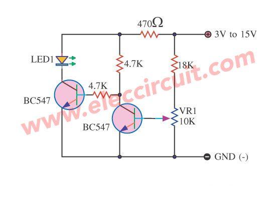 Battery low voltage alarm indicator circuits | Circuits