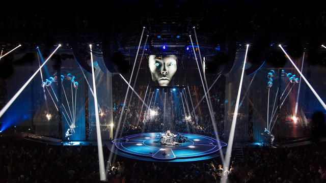 Muses new set design is like a giant video game co design business