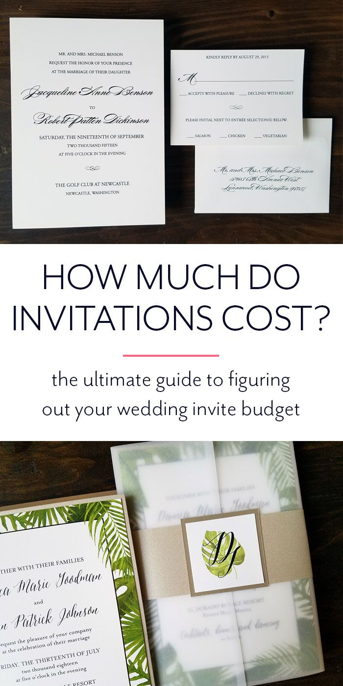 How Much Do Wedding Invitations Cost | Paper Fling | Paper Fling ...