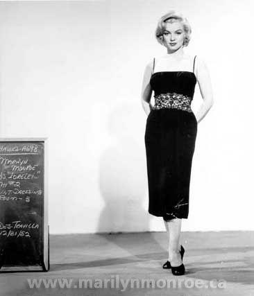 """Marilyn Monroe as Lorelei Lee in """"Gentlemen Prefer Blondes""""-1953"""