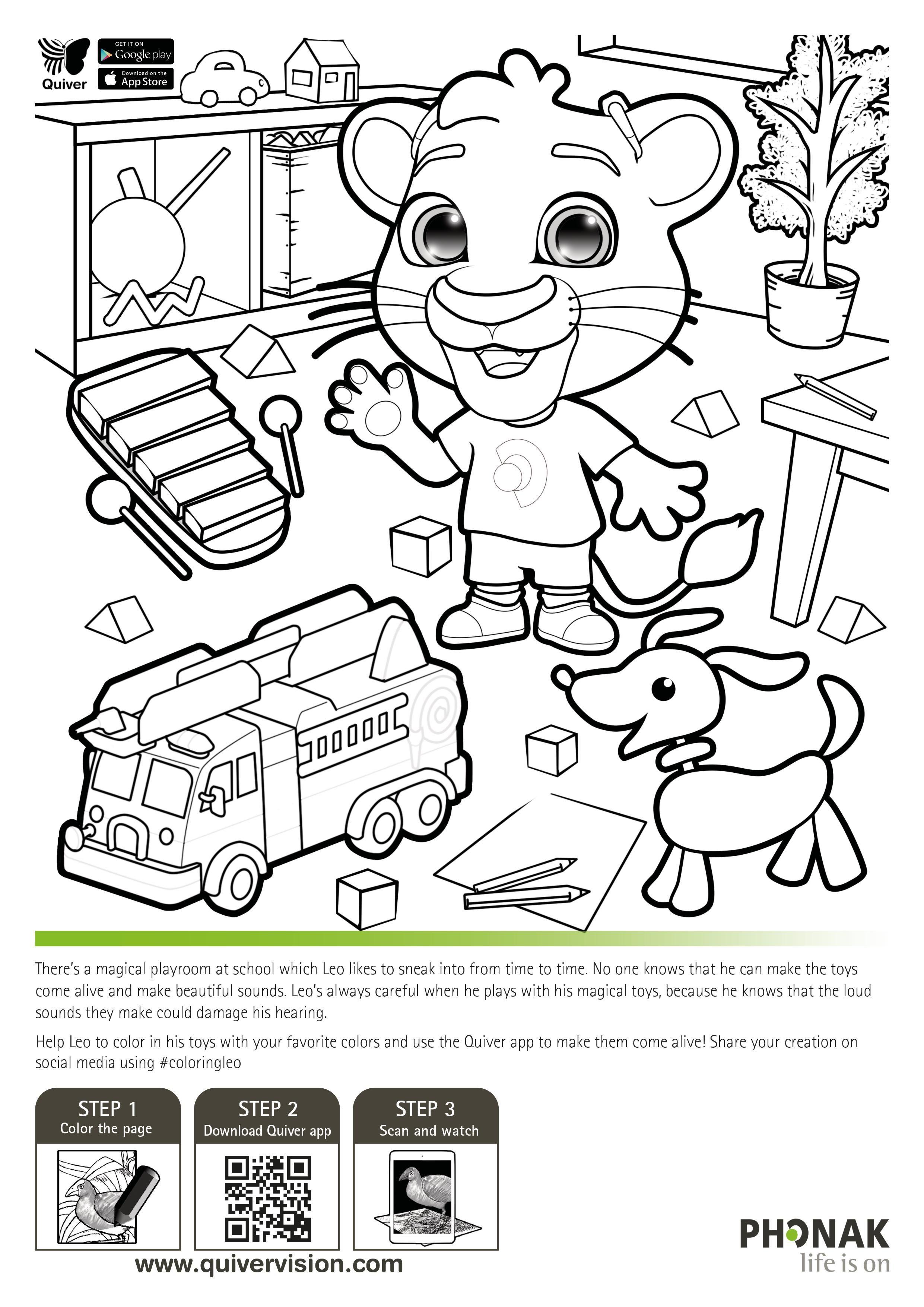 Quivervision Quivervision 3d çalışma Sayfaları Quiver Coloring