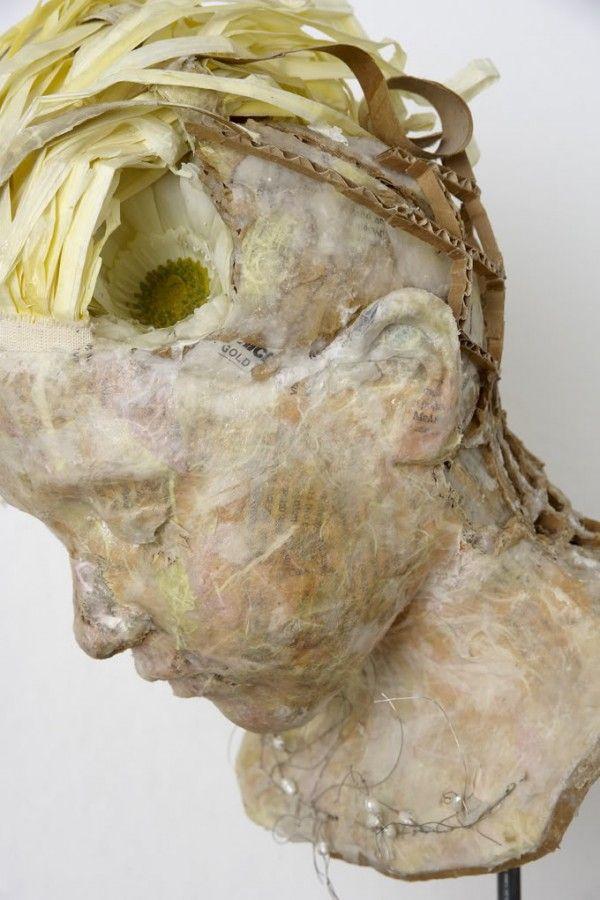 Paper Sculptures by Vally Nomidou sculpture paper