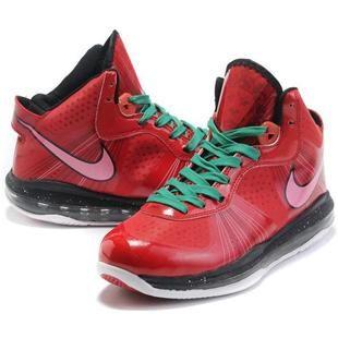 free shipping 27467 7e5db ... httpwww.asneakers4u.com Nike Zoom LeBron 8 V2 Christmas 2011 Stoplight  Pack ...