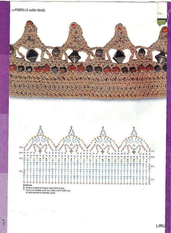 PUNTOS crochet - 3Tatayna- embroidery, knitting - Picasa Web Albums ...