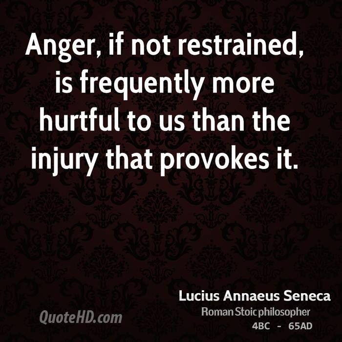 Lucius Annaeus Seneca Quotes | Anger quotes, Seneca quotes ...