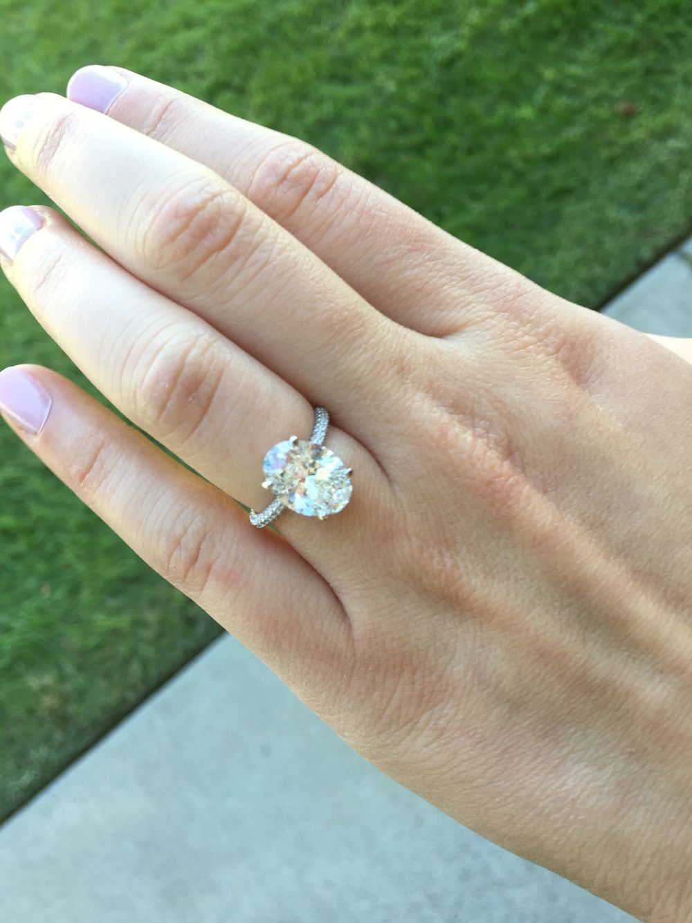 3 carat oval Ring Oval Engagement Rings Pinterest Ring