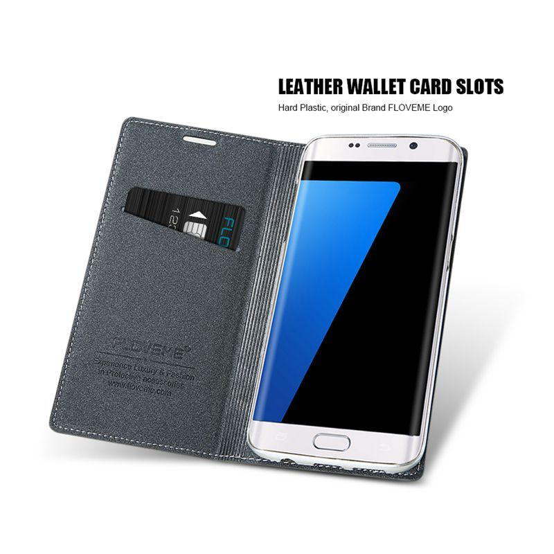 S6 Luxury Original Brand Cover Magnetic Flip Case For Samsung Galaxy S6 G9200 Full Wallet Pouch. Click visit to buy #FlipCase #case