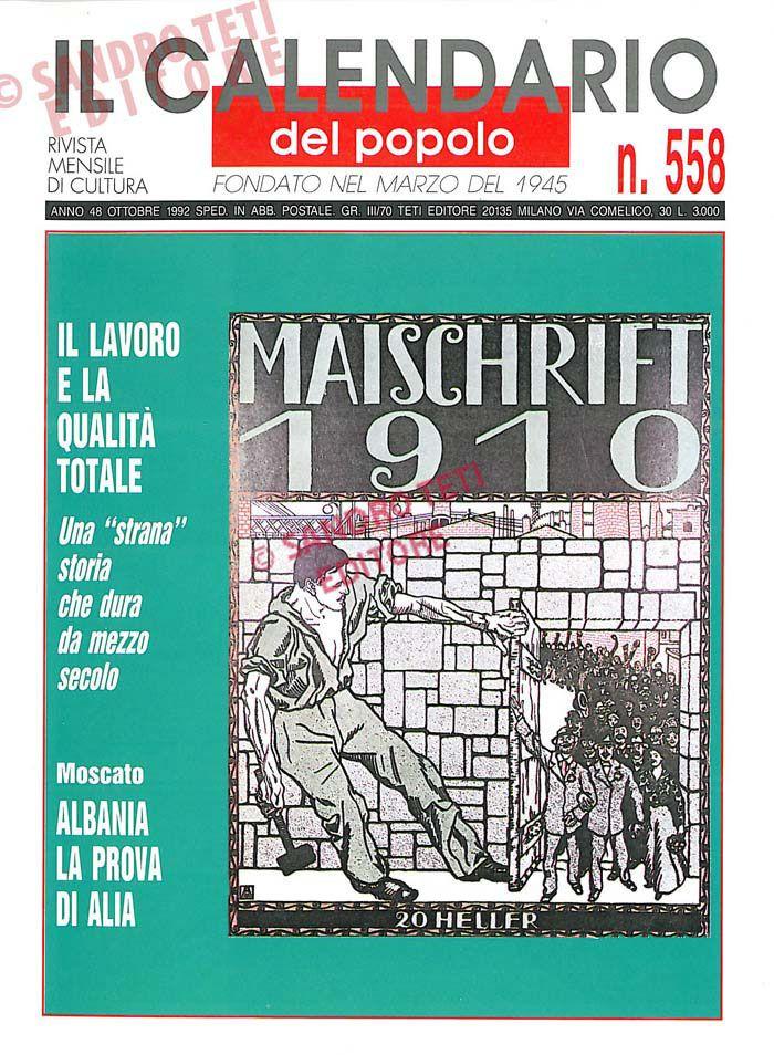Calendario Anno 1992.11 Fantastiche Immagini Su Il Calendario Del Popolo 1992