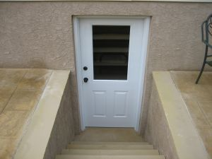 Basement Egress Doors | Wells, Wellcraft Window Wells Installations Basement  Egress Doors .