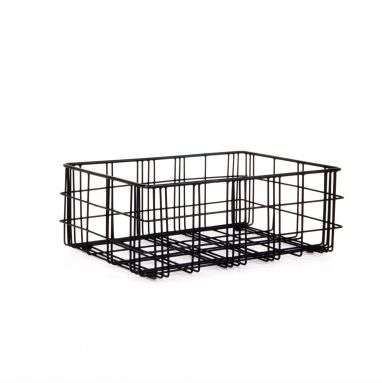 XLBoom opbergmand Harri zwart small  SHOP ONLINE: http://www.purelifestyle.be/shop/view/home-living/woonaccessoires-decoratie/xlboom-opbergmand-harri-small-zwart